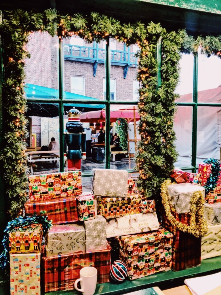 Christmas shop in York