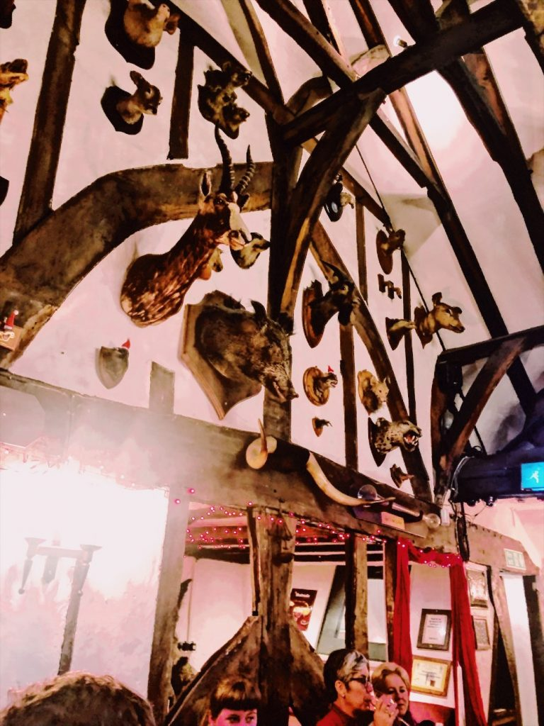 house of trembling madness at Christmas in York