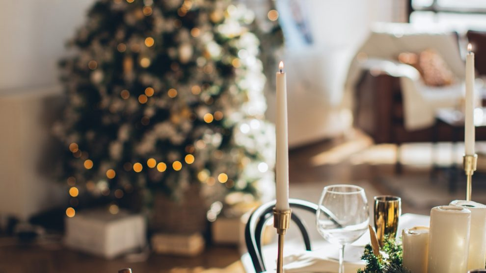 Space-Making Ideas for a Family Christmas at Home